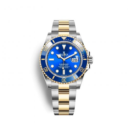126613lb-0002 : Rolex Submariner Date 41 Stainless Steel / Yellow Gold / Blue