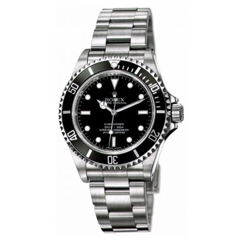 14060M-0004 : Rolex Submariner No-Date / Stainless Steel / Black Four Liner
