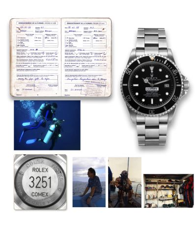 Rolex 16600 Comex MK1 : Sea-Dweller 16600 Comex Mark 1