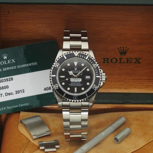 Rolex 16600 Comex Service : Sea-Dweller 16600 Comex Service
