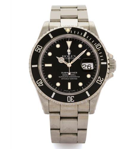 Rolex 16610 Tritium : Submariner Date 16610 Tritium