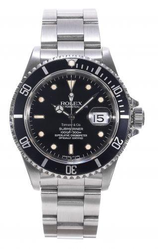 Rolex 16610 Tritium Tiffany : Submariner Date 16610 Tritium Tiffany