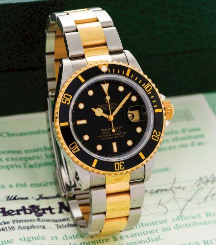 Rolex 16613 Black Tritium : Submariner Date 16613 Black Tritium