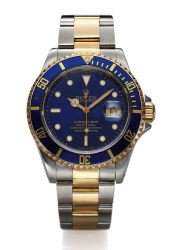 Rolex 16613 Blue Tritium : Submariner Date 16613 Blue Tritium