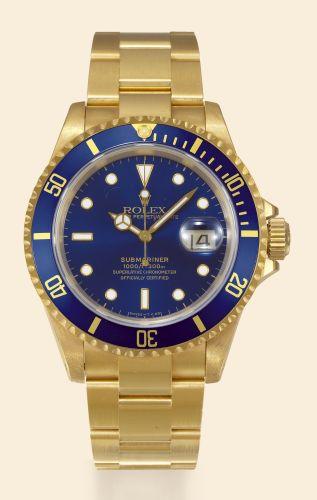 Rolex 16618 Blue Tritium : Submariner 16618 Blue Tritium