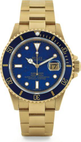 Rolex 16618 Lapiz : Submariner 16618 Lapis