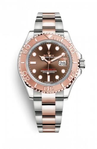 116621-0001 : Rolex Yacht-Master 40 Rolesor Everose / Chocolate