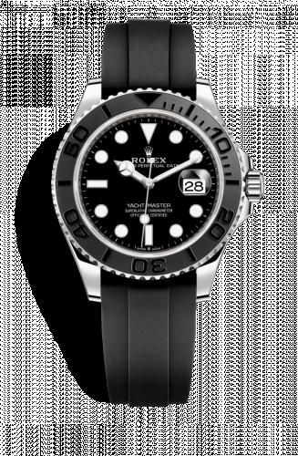 226659-0002 : Rolex Yacht-Master 42 White Gold / Black