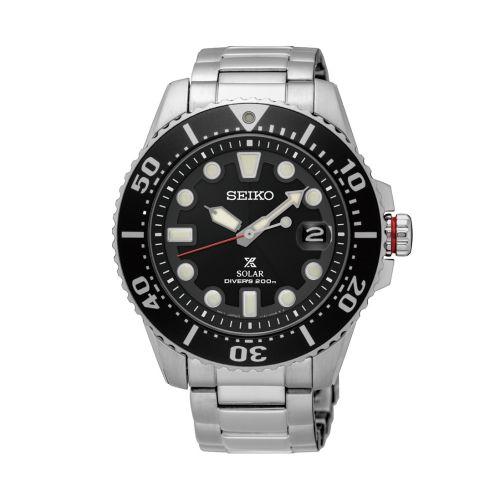 Seiko SNE437P1 : Prospex Diver SNE437P1 Stainless Steel / Black