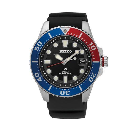 Seiko SNE439P1 : Prospex Diver SNE439P1 Stainless Steel / Black