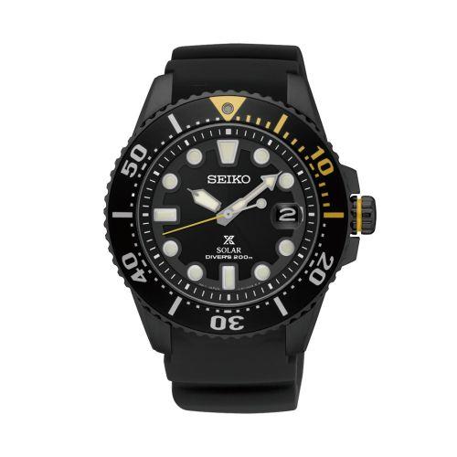 Seiko SNE441P1 : Prospex Diver SNE441P1 Stainless Steel / Black
