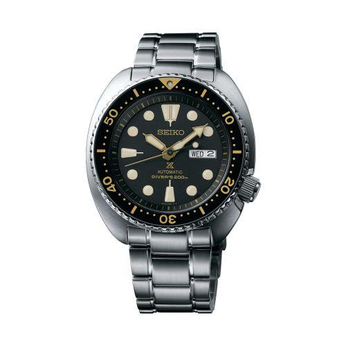Seiko SRP775 : Prospex Diver Turtle Stainless Steel / Black / Bracelet