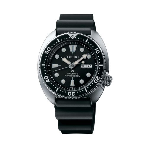 Seiko SRP777 : Prospex Diver Turtle Stainless Steel / Black / Rubber