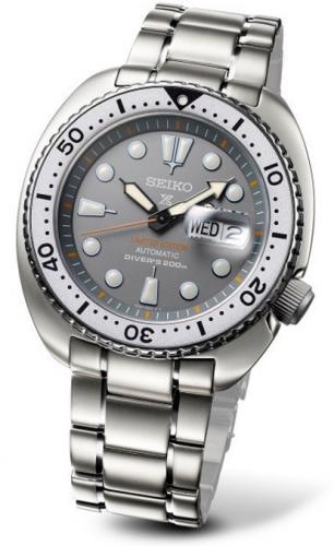 Seiko SRPA19 : Prospex Diver Turtle Stainless Steel / Grey / Bracelet / Zimbe