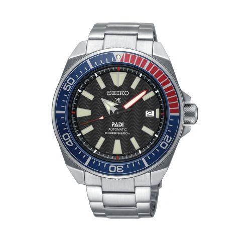 Seiko SRPB99 : Prospex Diver Samurai Stainless Steel / Black / Bracelet / Padi