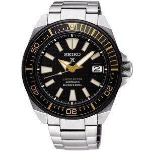 Seiko SRPC43 : Prospex Diver Samurai Stainless Steel / Black / Bracelet / Zimbe