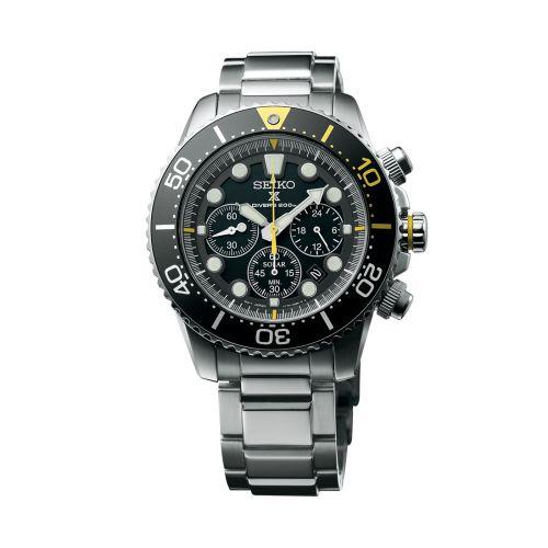 Seiko SSC613P1 : Prospex Diver SSC613P1 Stainless Steel / Black
