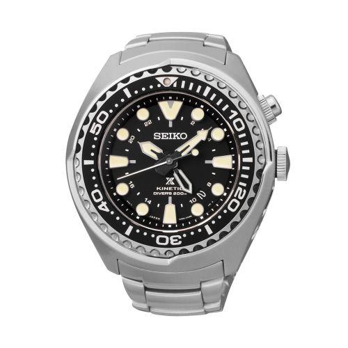 Seiko SUN019P1 : Prospex Diver SUN019P1 Stainless Steel / Black