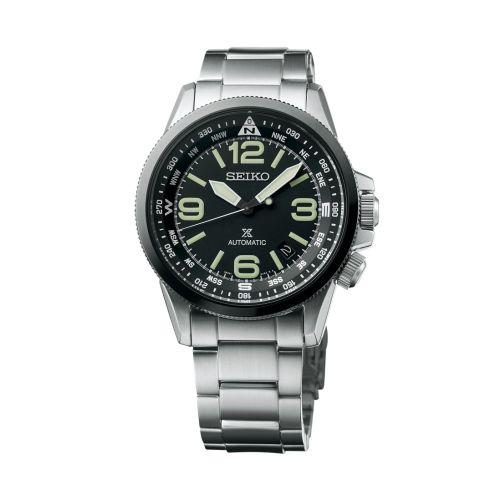 Seiko SRPA71K1 : Prospex Land SRPA71K1 Stainless Steel / Black / Bracelet