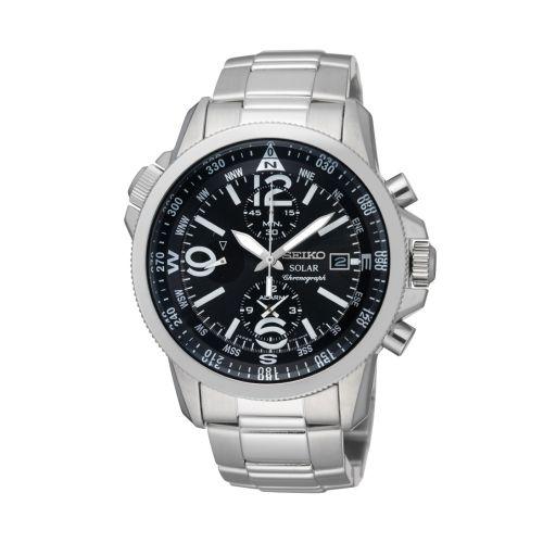 Seiko SSC075P1 : Prospex Land SSC075P1 Stainless Steel / Black / Bracelet