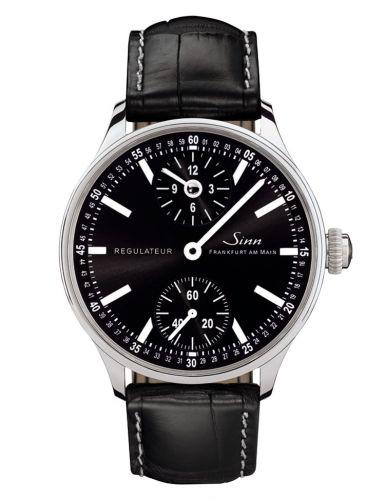 6100.015 : Sinn Classic Timepieces Regulateur Technik Stainless Steel / Black