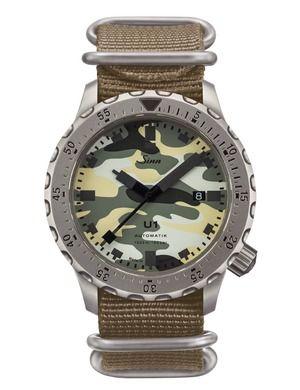 Sinn 1010.0101 : Diving Watch U1 Camouflage