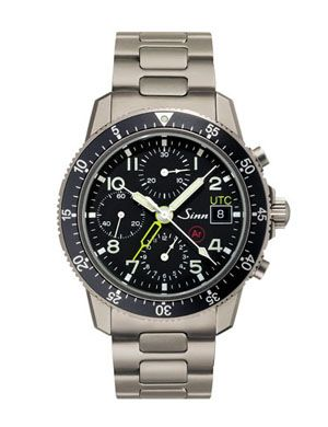 Sinn 103TiArUTC : Pilot Chronograph 103 Ti Ar UTC