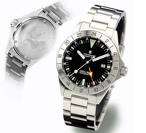Steinhart T0211  : Ocean One Vintage GMT