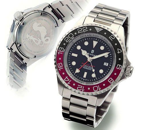Steinhart T0213 : Ocean 44 GMT Black - Red