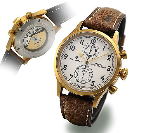 Steinhart P0918  : Marine Chronograph Bronze Premium
