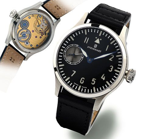 Steinhart P0905  : Nav B-Uhr 44 ST1 Premium Gold