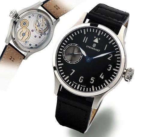Steinhart P0906  : Nav B-Uhr 44 ST1 Premium Silver
