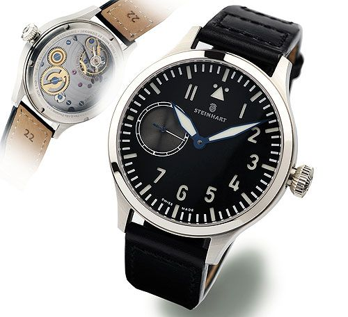 Steinhart P0907  : Nav B-Uhr 44 ST1 Premium Anthracite