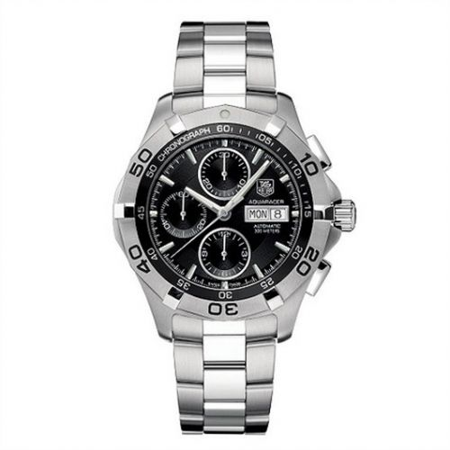 CAF2010.BA0815 : TAG Heuer Aquaracer 300M Calibre 16 Day-Date 43 Stainless Steel / Black / Bracelet