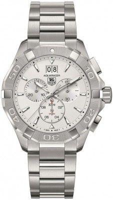 TAG Heuer CAY1111.BA0927 : Aquaracer 300M Quartz Chronograph 43 Stainless Steel / Silver / Bracelet