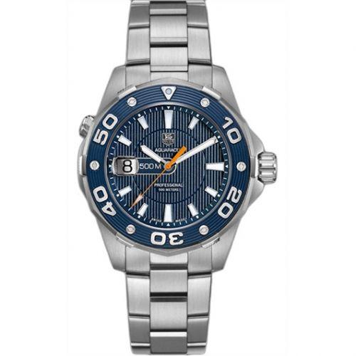 TAG Heuer WAJ1112.BA0870 : Aquaracer 500M Quartz 43 Stainless Steel / Blue / Bracelet