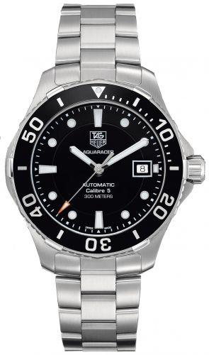 WAN2110.BA0822 : TAG Heuer Aquaracer 300M Calibre 5 41 Stainless Steel / Black / Bracelet