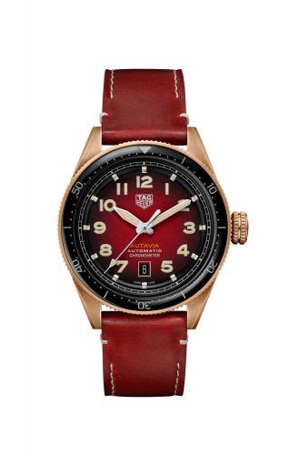 TAG Heuer WBE5192.FC8300 : Autavia Calibre 5 Bronze / Red