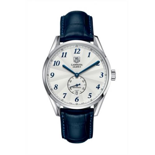 TAG Heuer WAS2111.FC6293 : Carrera Calibre 6 39 Heritage Stainless Steel / Silver / Alligator