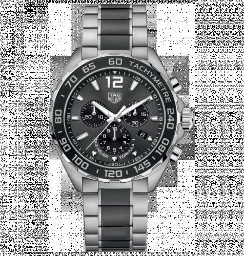 TAG Heuer CAZ1011.BA0843 : Formula 1 Chronograph Quartz 43 Stainless Steel / Black