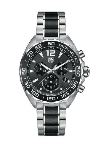TAG Heuer CAZ1111.BA0878 : Formula 1 Chronograph Quartz 42 Stainless Steel / Grey / Bracelet