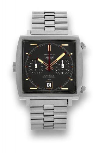 TAG Heuer 1133G : Monaco Calibre 12 Grey