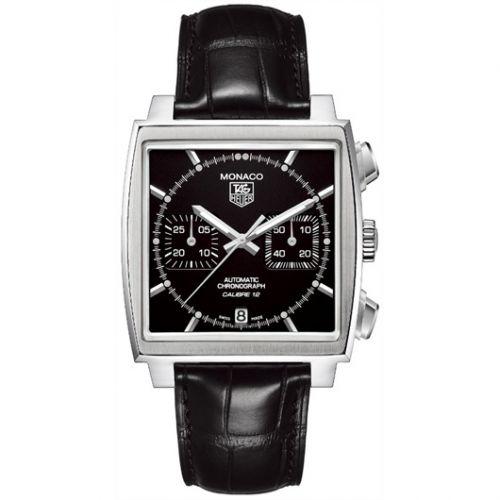 TAG Heuer CAW2110.FC6177 : Monaco Calibre 12 Black