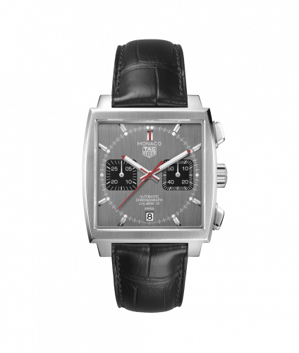 CAW211J.FC6476 : TAG Heuer Monaco Calibre 12 Stainless Steel / Grey / Final Edition