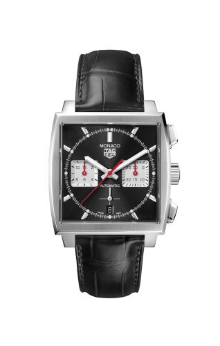 TAG Heuer CBL2113.FC6177 : Monaco Calibre Heuer 02 Stainless Steel / Black