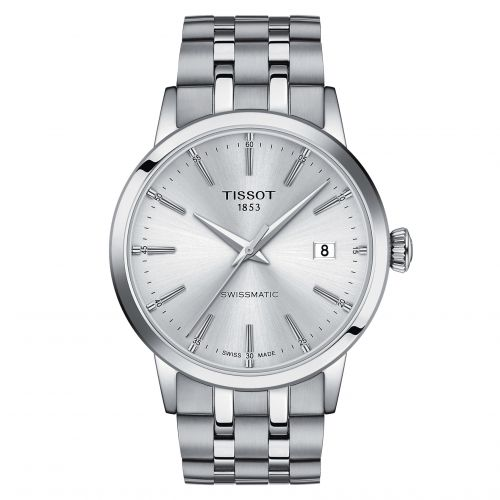 Tissot T129.407.11.031.00 : Dream Swissmatic 42 Stainless Steel / Silver / Bracelet