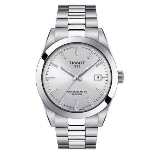 T127.407.11.031.00 : Tissot Gentleman Powermatic Stainless Steel / Silver / Bracelet