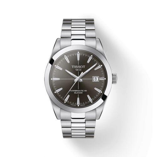 Tissot T127.407.11.061.00 : Gentleman Powermatic Stainless Steel / Grey / Japan