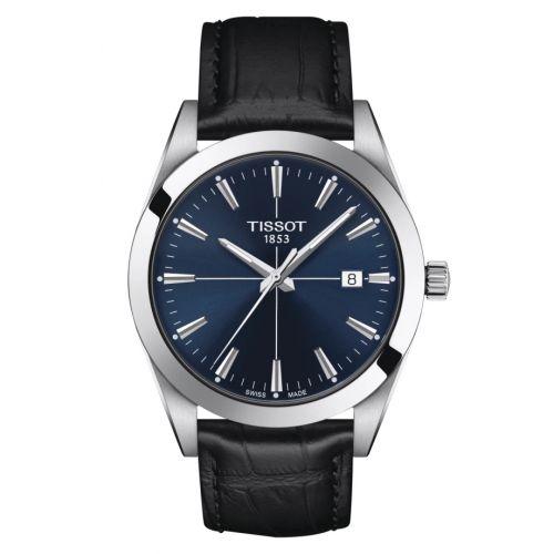 T127.410.16.041.01 : Tissot Gentleman Quartz Stainless Steel / Blue / Strap