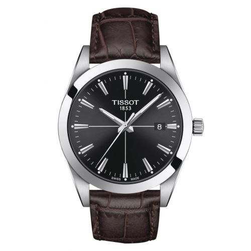 T127.410.16.051.01 : Tissot Gentleman Quartz Stainless Steel / Black / Strap